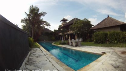 5 bedroom villa in Pererenan with enormous land and amazing view