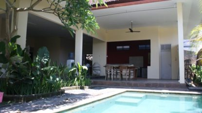 Semi Furnished 3 bedroom villa in Kerobokan area