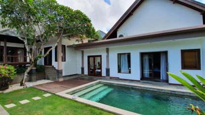 Freehold 3 bedroom villa in Pererenan