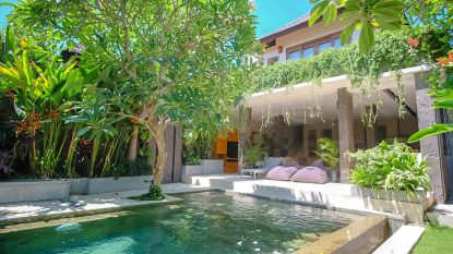 FREEHOLD 3 bedroom villa in Seminyak area