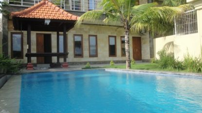 Nice 3 bedroom villa with rice field and sea view