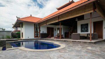 3 bedroom large villa in Medewi, West Bali