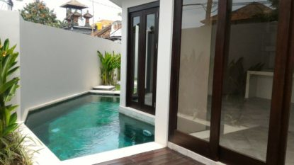 Brand new 2 bedroom villa in set on tranquil residential in Sanur