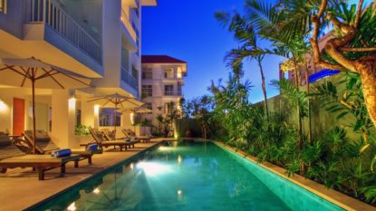 2 bedroom condotel in good area of Kuta