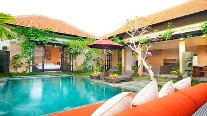 Beautiful 2 bedrooms villa walking distance to Brawa beach