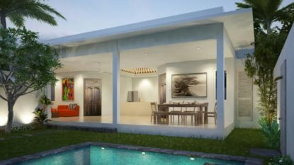 Brand new 2 bedroom villa in Sanur area