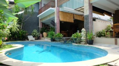Comfortable 4 bedroom villa in Kerobokan