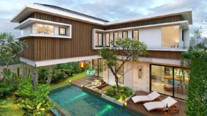 New property development close to the Canggu beach