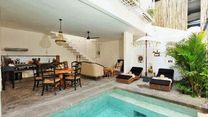 Freehold 3 bedroom villa in good area of Canggu