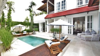 Freehold villa close to the beach