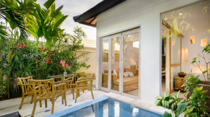 2 Bedroom private villa in Umalas area