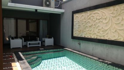 Freehold 2 bedroom villa in Sanur