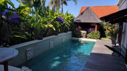 Tropical 4 bedroom villa in Canggu area