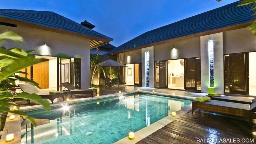 Villa 3 kamar di Seminyak
