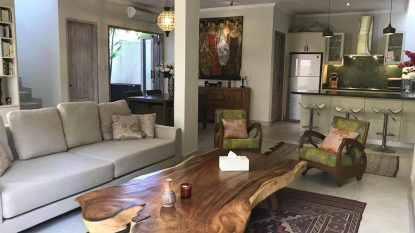 Stylish 2 bedroom town house in Seminyak