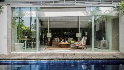 3 bedroom villa with private pool – Batu Bolong