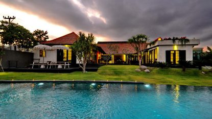Wonderful 4 bedroom villa in Canggu with pondok Wisata licence