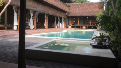 THE LUXURY OF SILENCE IN  SEMINYAK