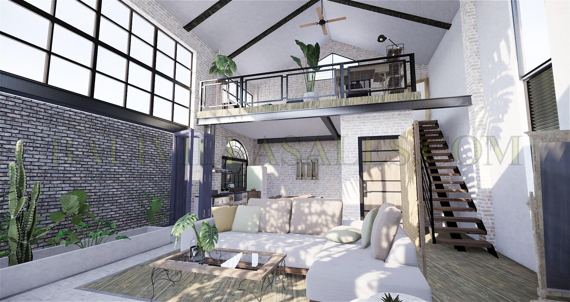 Loft-Studio for Sale in Pererenan