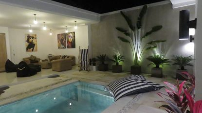 Clean and sleek 2 bedroom villa in Kerobokan