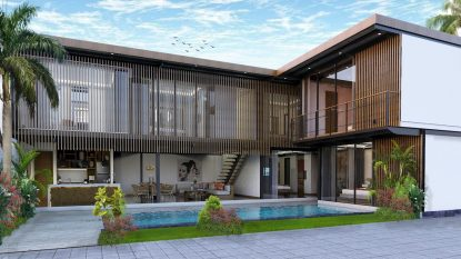 Canggu optimal turn-key investment 6 bedroom villa