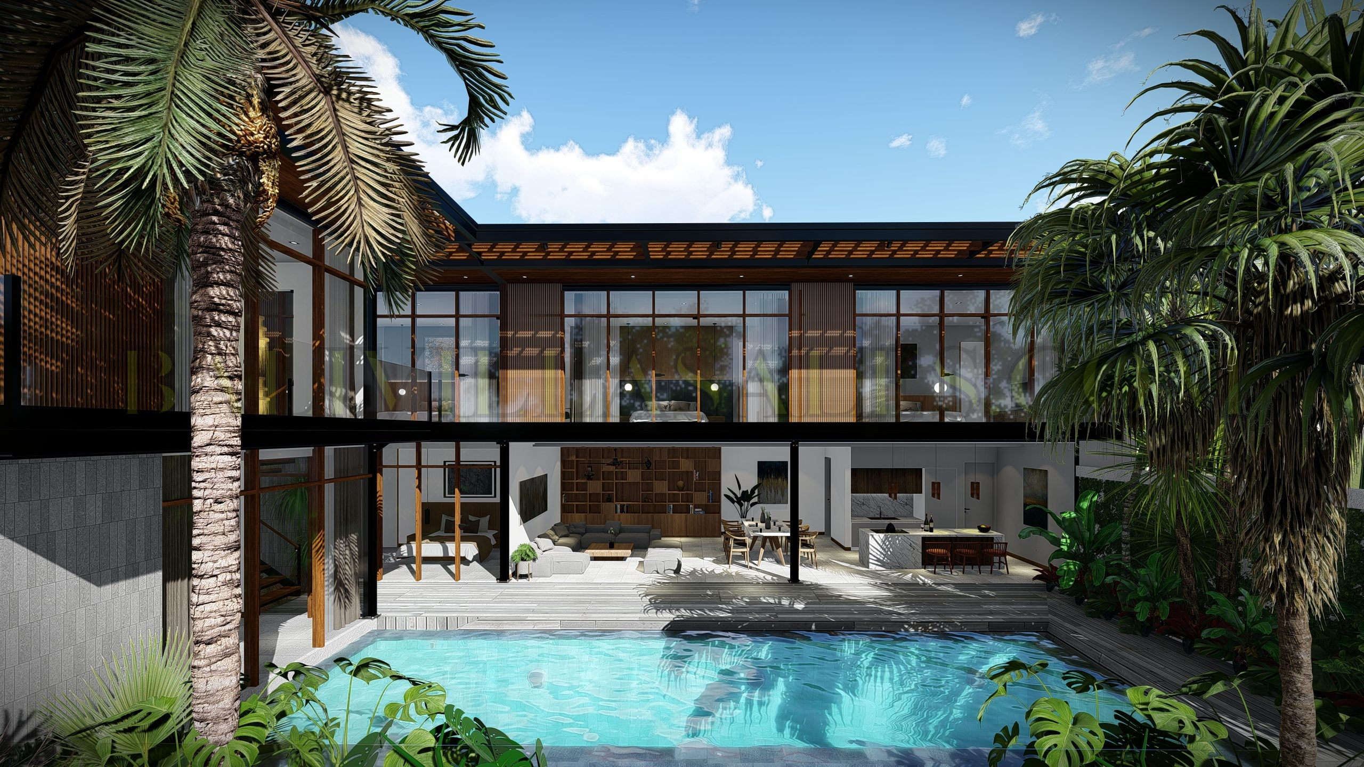 Canggu optimal Turn-Key Investment 4 bedroom villa