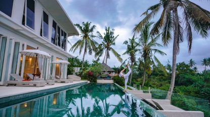 FREEHOLD — LUXURIOUS 5 BEDROOM VILLA IN UBUD