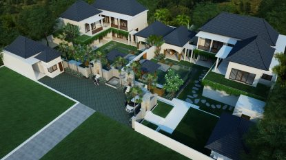 Two Large 5 bedroom LUXURY FREEHOLD VILLAS in Progress = 10 bedroom possibility!