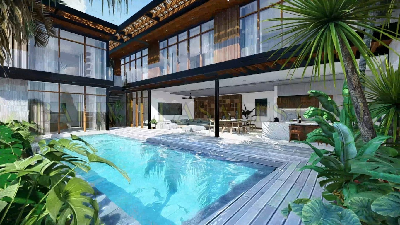 Brand new 6 Bedroom villa project close to Berawa beach!