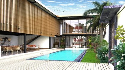 Brand new 6 Bedroom villa project close to Berawa beach!