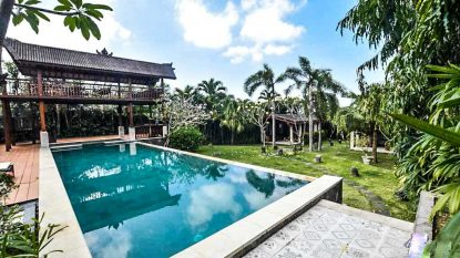 4 bedroom villa on a large plot in North Canggu