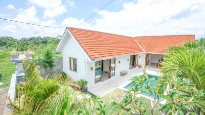 Villa 2 Bedroom Newly Built Villa for sale leasehold in North Canggu