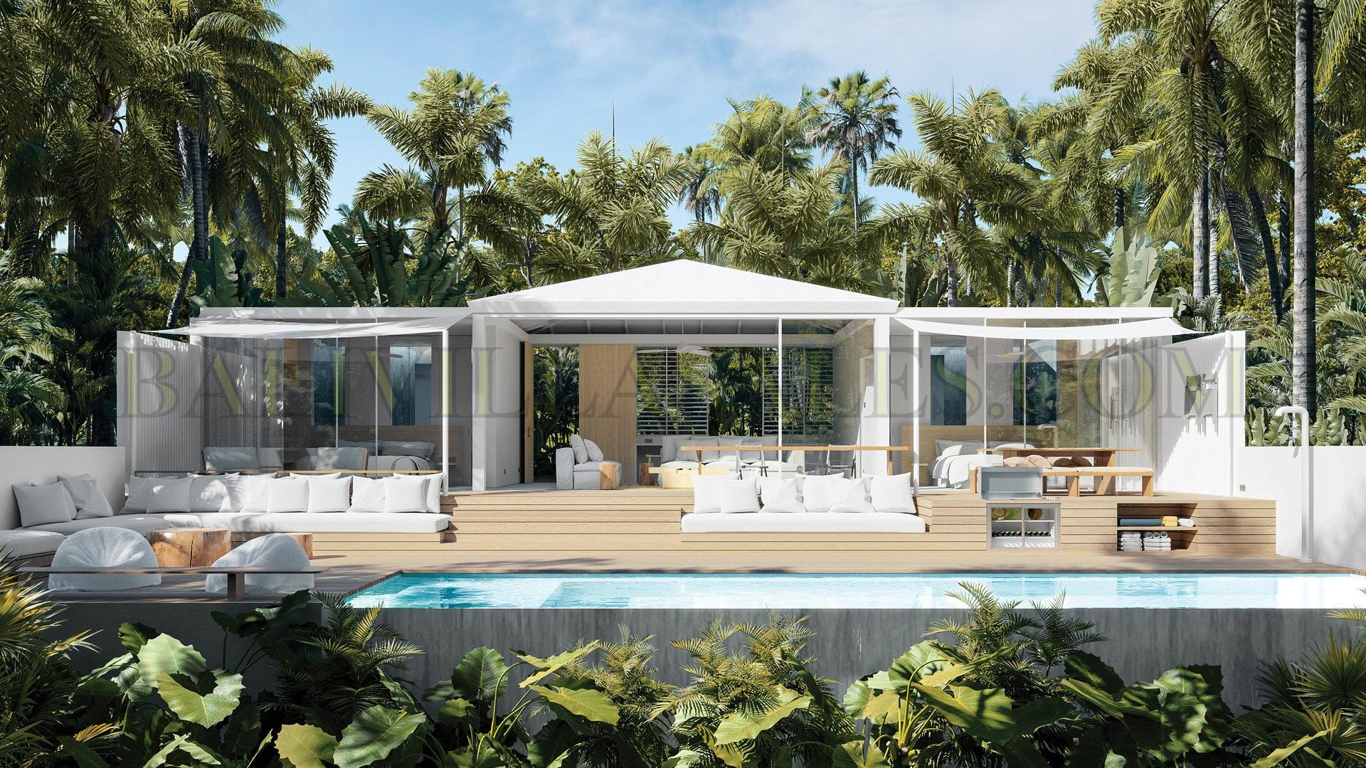 Sustainable luxurious 2-bedroom villa in Pererenan