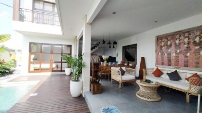 Brand New 3 Bedroom Villa for sale Freehold in North Canggu
