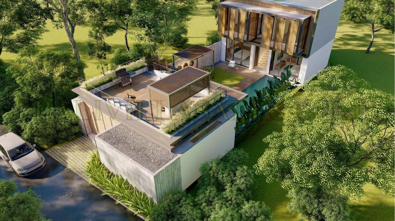 Off-plan modern 4 bedroom villa walking distance Berawa beach