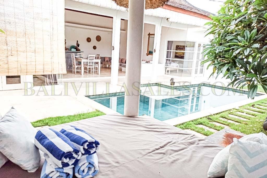 2 Bedroom villa for sale leasehold in Pantai Balangan, Jimbaran