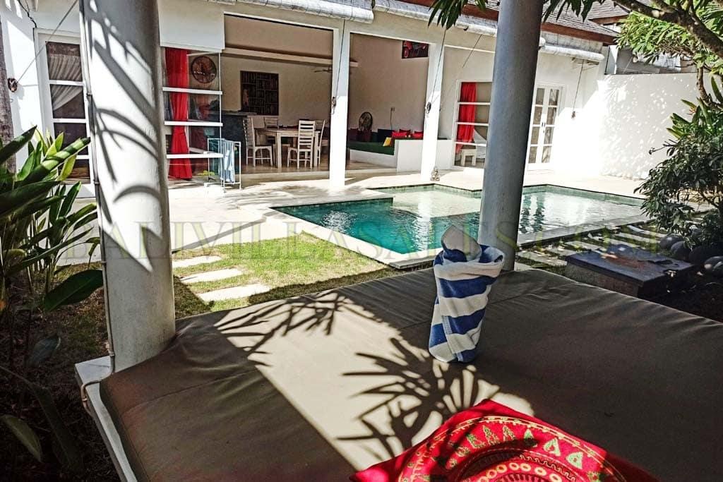 Villa 2 Kamar Dijual Leasehold Dekat Pantai Balangan