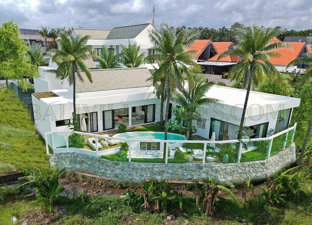 Hotspot 3 bed villa – rice field view