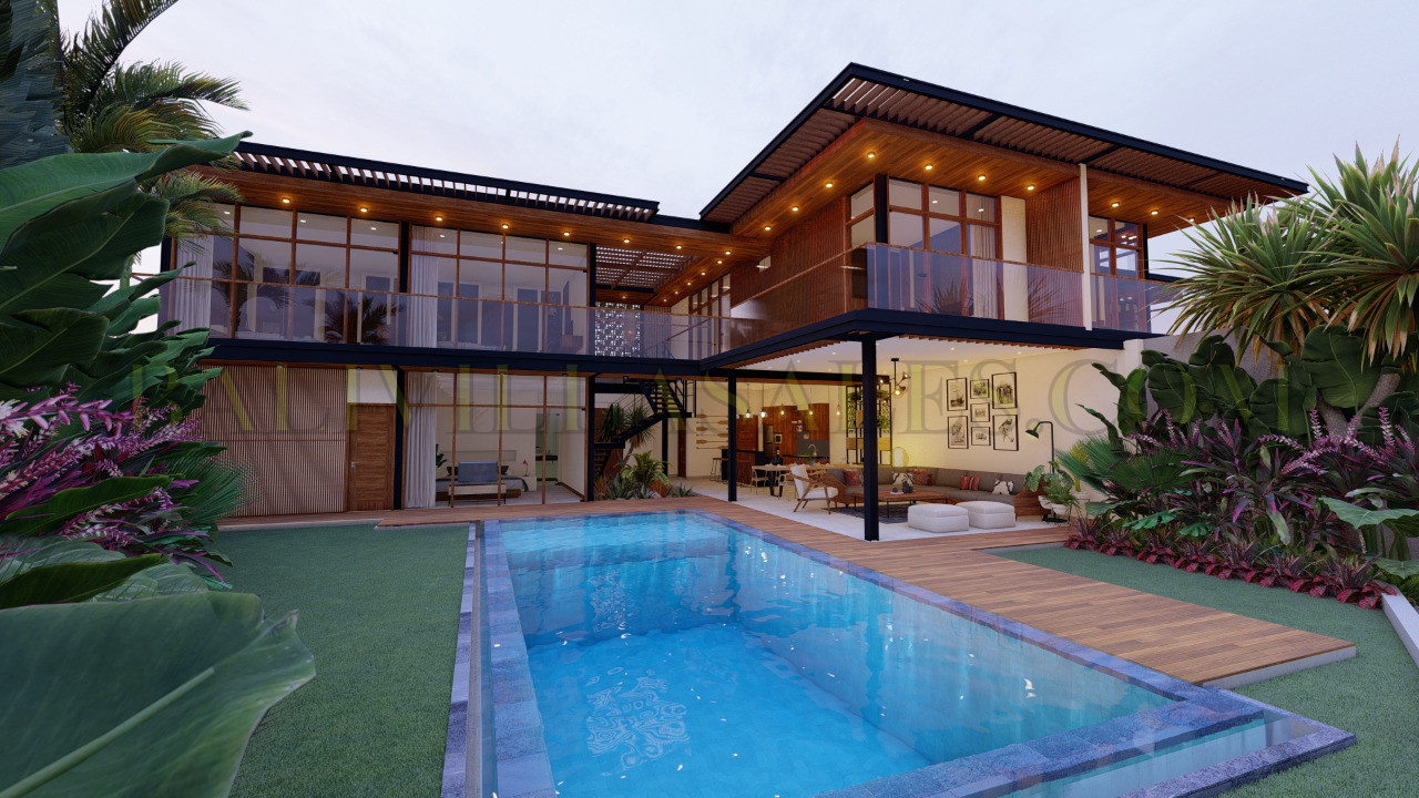 5 BEDROOM VILLA TOP QUALITY BUILD WITH STUNNING DESIGN!